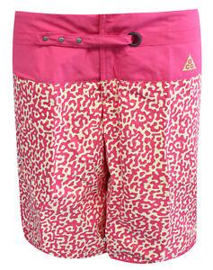 299256 Damen Brett Überall Acg Bedruckt about 684 Pink Badehose UA21 Details Nike pqUVLSGzMj