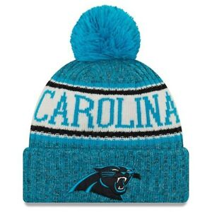 71e5e7b5b Carolina Panthers New Era Youth 2018 NFL Sideline Cold Weather Sport ...