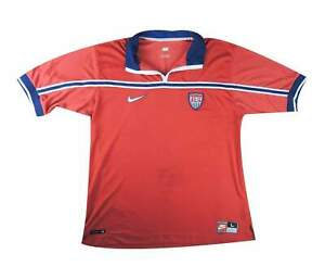 USA 1998-99 Authentic Away Shirt (eccellente) L soccer jersey