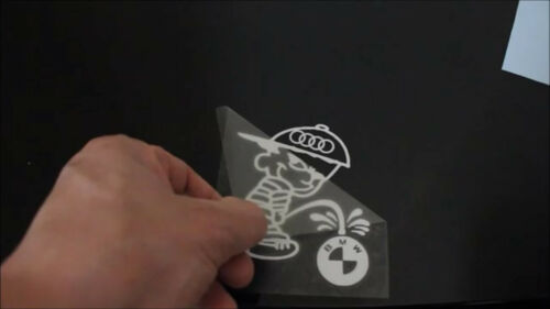 Funny BABY ON BOARD Minion Car Sticker Vinyl Decal Adhesive Window Bumper Black