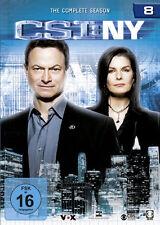 6 DVDs * CSI : NY - STAFFEL / SEASON 8 - NEW YORK # NEU OVP §