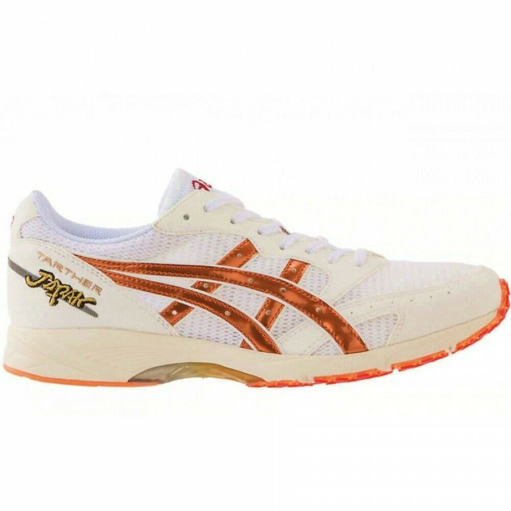 ASICS Japan Running scarpe TARTHER JAPAN LEGENDS 1013A046 bianca LAVA arancia