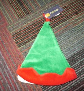 Red Elf Hat Size 0-3 Months Nice Cute Hat Reliable Performance Popular Brand Nwt Cherokee Green