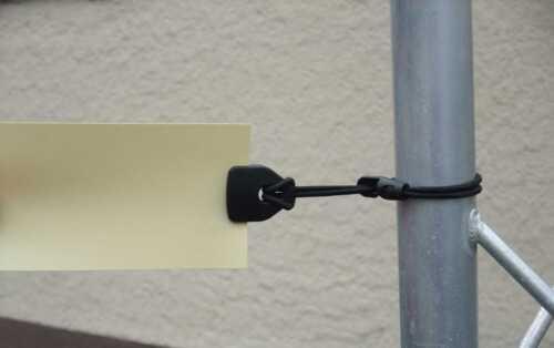 4x3,5x1 cm Spann-Klammer-Fixe Clips 50 HOLDON MINI CLIP Planen-Spanner schwarz