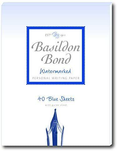 Blue Basildon Bond Duke 137 x 178 mm Writing Pad with 40 Sheets