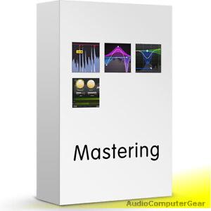 Fabfilter Mastering Bundle Avec Pro-q 3, Pro-l 2, Pro-c, Pro-mb Audio Plug-ins Neuf-afficher Le Titre D'origine