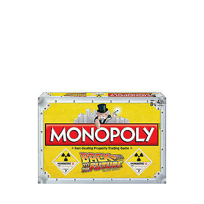 NEW Board Games Back to the Future Monopoly