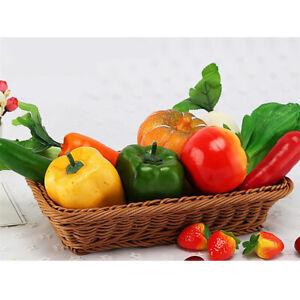 3PCS-Realistisch-Kuenstlich-Imitiert-Paprika-Gemuese-Dekor-Restaurants-Requisiten