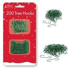 200 x Christmas Tree Hooks Wire Bauble Ornaments Xmas Home Hanging Decorations
