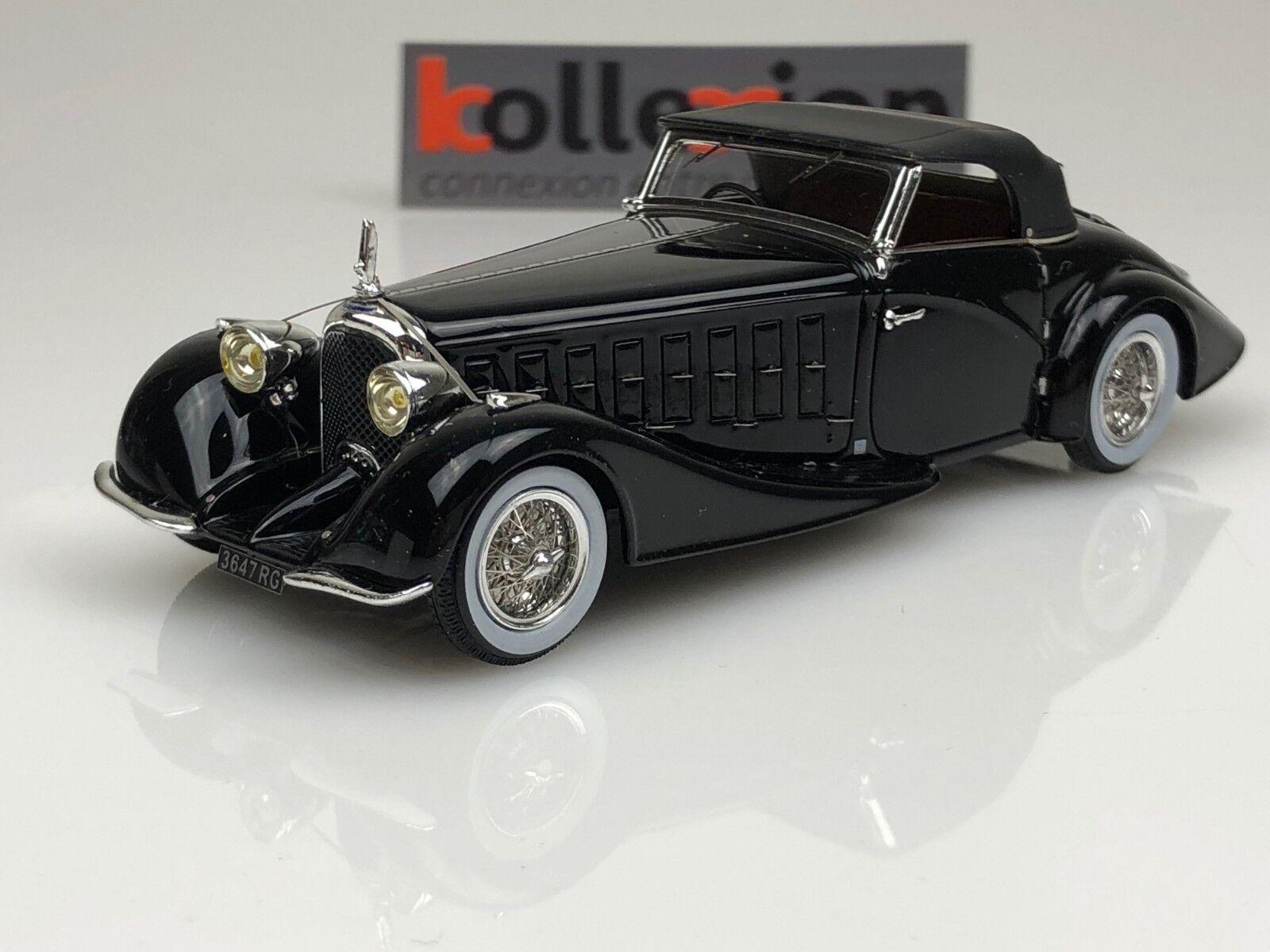ILARIO Chromes 043 VOISIN C15 Saliot Roadster 1934 Noir 1.43