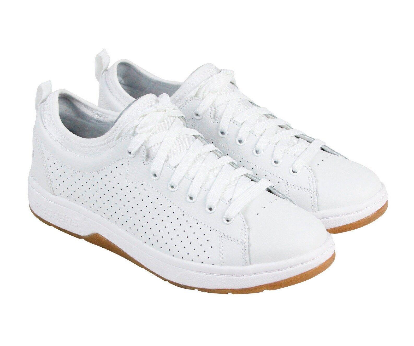 Skechers 52372 / sproles cosa alpha lite sproles / mn (m) di pelle bianca, scarpe da ginnastica cd1cb5