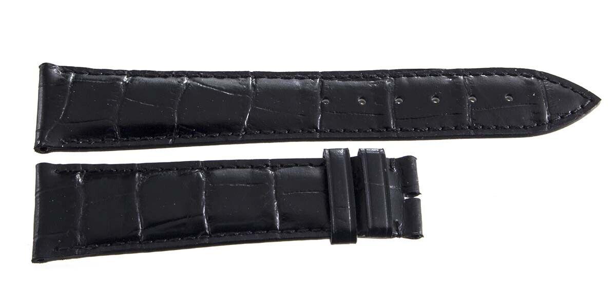 Image 11 - Frederique-Constant-Geneve-22mm-x-18mm-Black-Alligator-Watch-Band