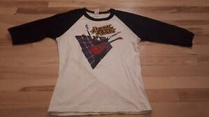 Vintage-Original-April-Wine-Power-play-tour-1982-shirt-rare-beautiful