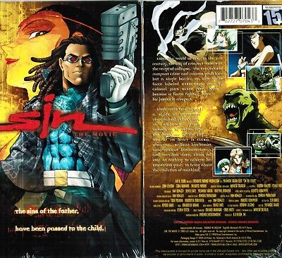 Sin The Movie Anime Vhs Video Tape New English Dubbed 702727070433