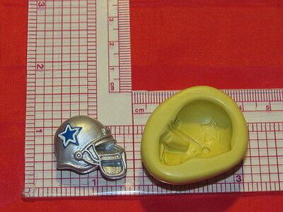 Football Helmet Sucker Chocolate Candy Mold