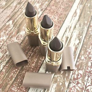 Loreal Paris Colour Riche Lipstick Cosmetics #989 Berry extreme Lot of 3 NEW