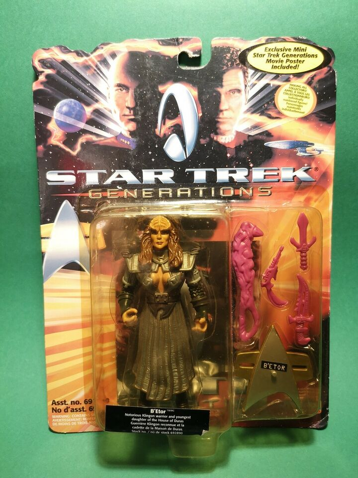 Star Trek - B'Etor, Playmates