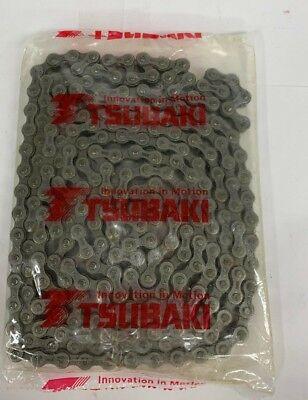 1 CL Tsubaki 6018 Coupling Chain 60-2 Riv x 17P