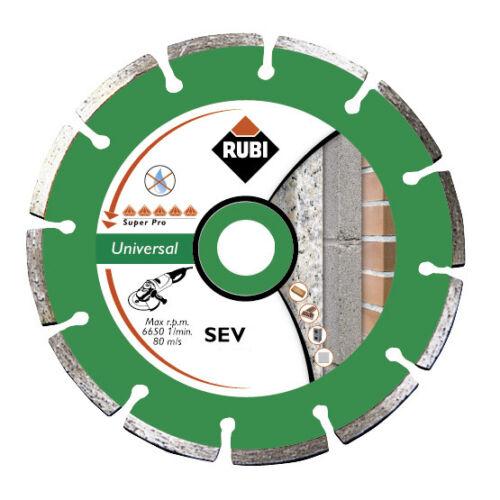 Rubi SEV 125 Pro Diamant Trennscheibe Beton Nass Trocken Diamanttrennscheibe