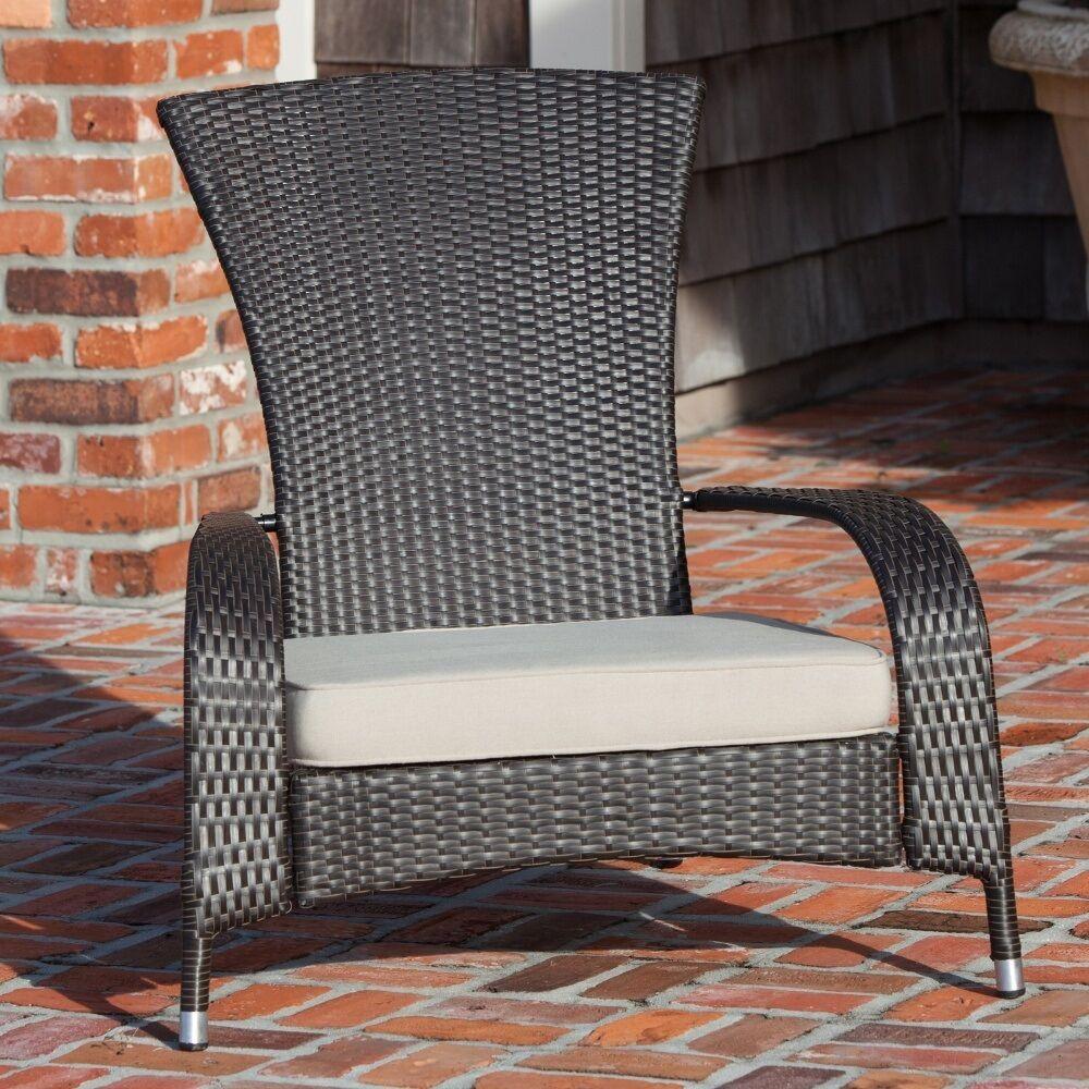 White Resin Adirondack Chairs.Armchair Wicker Adirondack Chair Outdoor Resin Porch Patio Garden Furniture Seat