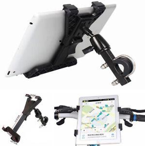 Motorrad-Fahrradhalterung-Halter-360-drehbar-Metall-fur-7-11-034-Tablet-PC-GPS