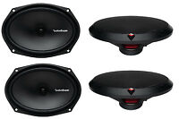 4) Rockford Fosgate R169x2 6x9 260w 2 Way Car Coaxial Speakers Audio Stereo