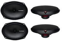 4) Rockford Fosgate R169x2 6x9 260w 2 Way Car Coaxial Speakers Audio Stereo