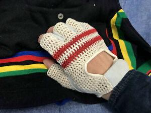 Cult-Vintage-RETRO-Rennrad-cycling-gloves-Handschuhe-Eroica-NEW-old-stock-S-M-L