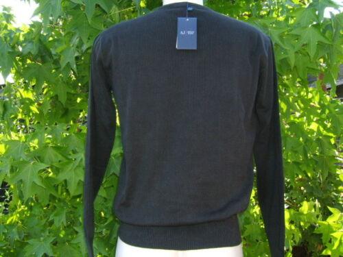 l Jeans xl Maglia m s Girocollo Originale Cotone 100 Armani Nera Tg YdZHn0