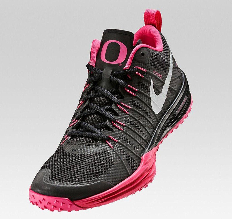 Nike lunar tr1 nrg uomini scarpe nere di formazione / argento / rosa 654283 066 taglia 10 nero / argento / rosa