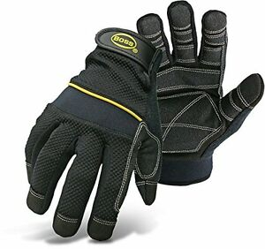Boss Gloves 5202X Multi-Purpose Padded Knuckle Utility Glove, X-Large