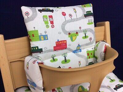 Sitzkissen Sitzverkleinerer für Stokke Tripp Trapp Babyset Hochstuhl NEU