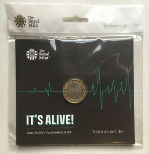(new & Sealed) 2018 Mary Shelley's Frankenstein £ 2 Coin Set Royal Comme Neuf Uk Bu-afficher Le Titre D'origine CoûT ModéRé