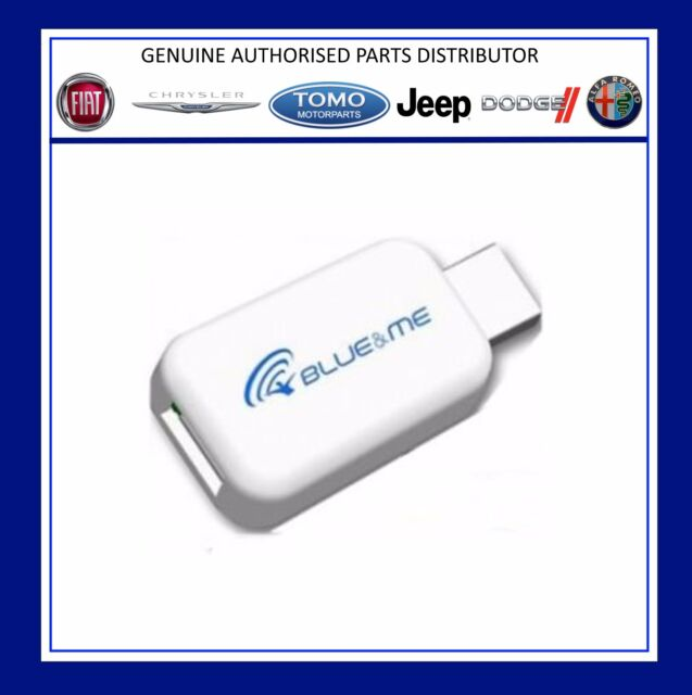 New Genuine Fiat & Alfa Blue and Me USB Adaptor  For Apple iPhone/iPod 71805430