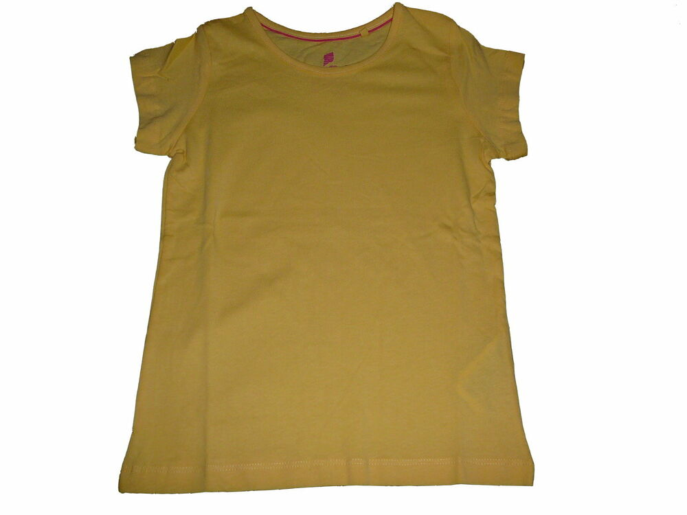 Aimable Nouveau Lupilu Votre T-shirt Taille 98/104 Unicolore Jaune!!! Nouveau Design (En);