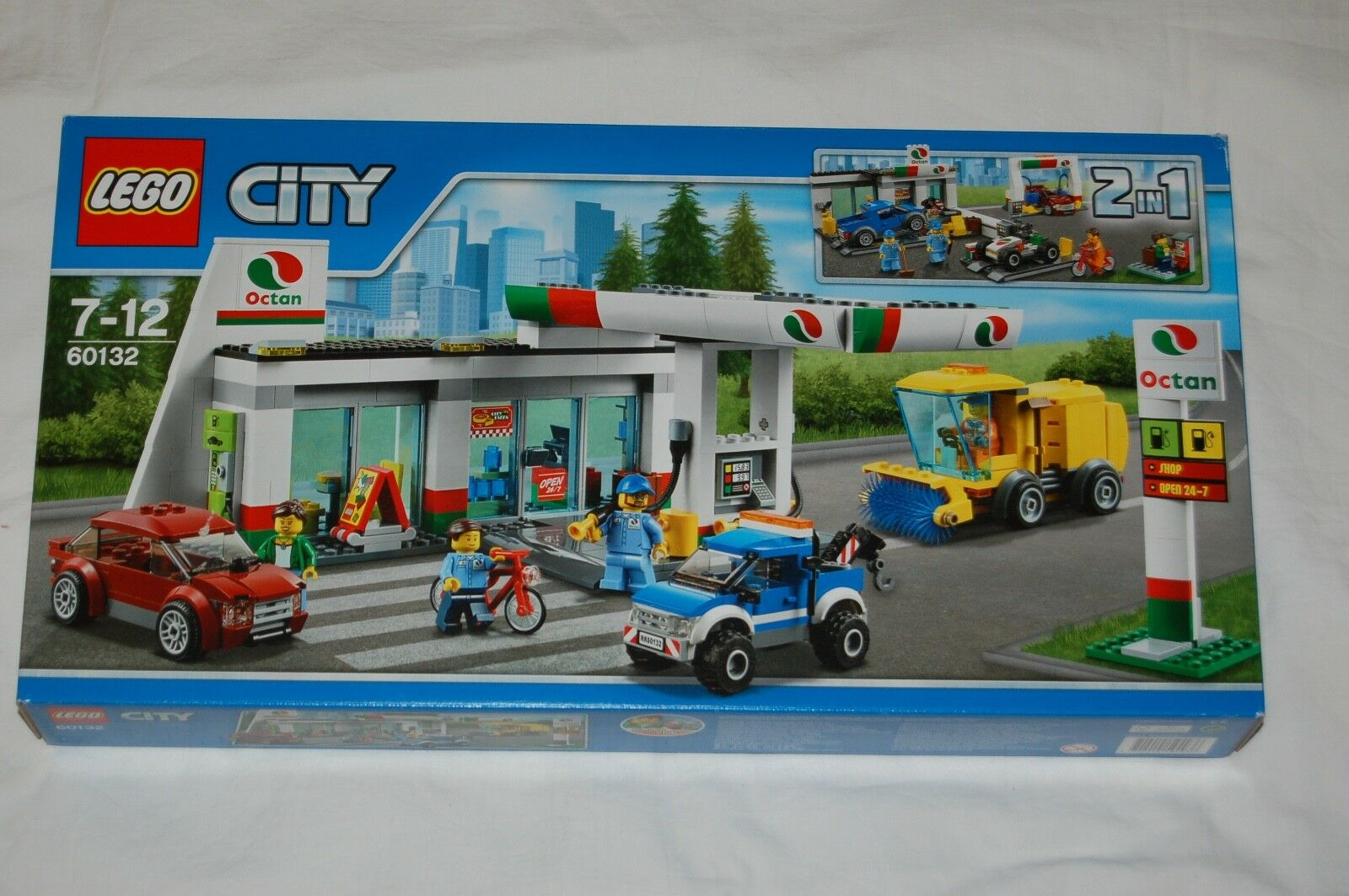 LEGO City 60132 Tankstelle NEU  passt zu 60200,60141,60118,60152