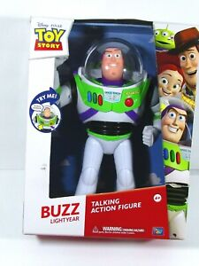 Disney Pixar Toy Story Buzz Lightyear 12 inch Talking Action Figure