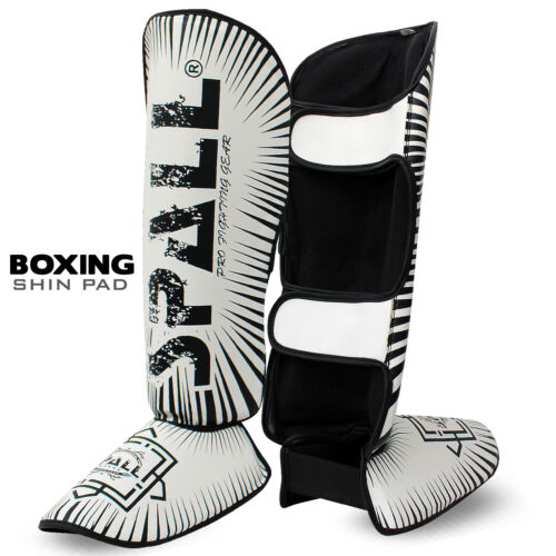 Shin Guards Legs Instep Boxing MMA Protector Foot Pads Muay Thai Kickboxing