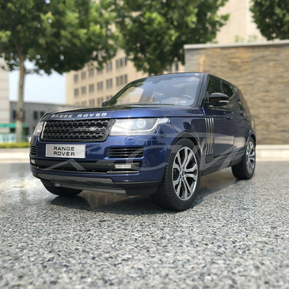 Modèle de voiture LCD Modèles Range  Rover 1 18 (bleu) + petit cadeau  vente