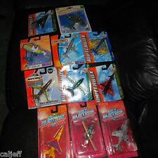 11 LOT MATCHBOX SKYBUSTERS MILITARY HARRIER ALASKA AIRLINES BOEING 737 HERO CITY