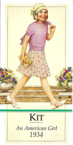 PARTY FAVOR~GIFT BAG~STOCKING STUFFER RETIRED AMERICAN GIRL KIT BOOKMARK~2000