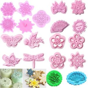four soap mold butterfly cute flower DIY handmade soap silicone moldR Kd