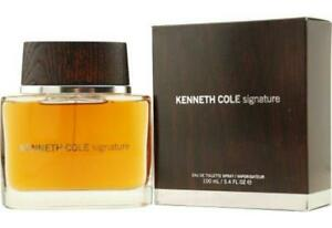 KENNETH COLE SIGNATURE Cologne for Men 3.3 / 3.4 oz Spray New in Box