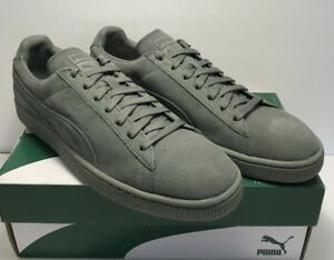 timeless design 3e0d0 83eae Details about Puma Mens Size 11 Suede Classic Tonal Agave Green Casual  Shoes New