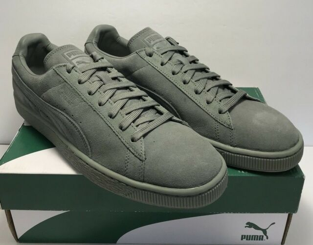 PUMA Mens Suede Classic Tonal Fashion Sneaker Agave Green 11 M US ... b36e300c6