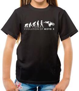 Evolution-of-Woman-Moto-X-Kids-T-Shirt-Motocross-Motorcycle-Biker