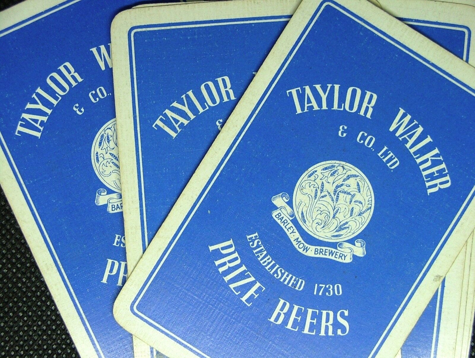 1 X Playing Card Single Swap Taylor Walker Barley Mow Brewery Prize Beers Ipc112 Ebay