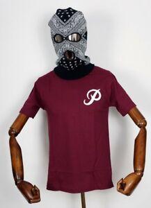 Primitive-Skate-Skateboards-Tee-T-shirt-Classique-P-Core-Bordeaux-en-M-P-Rod