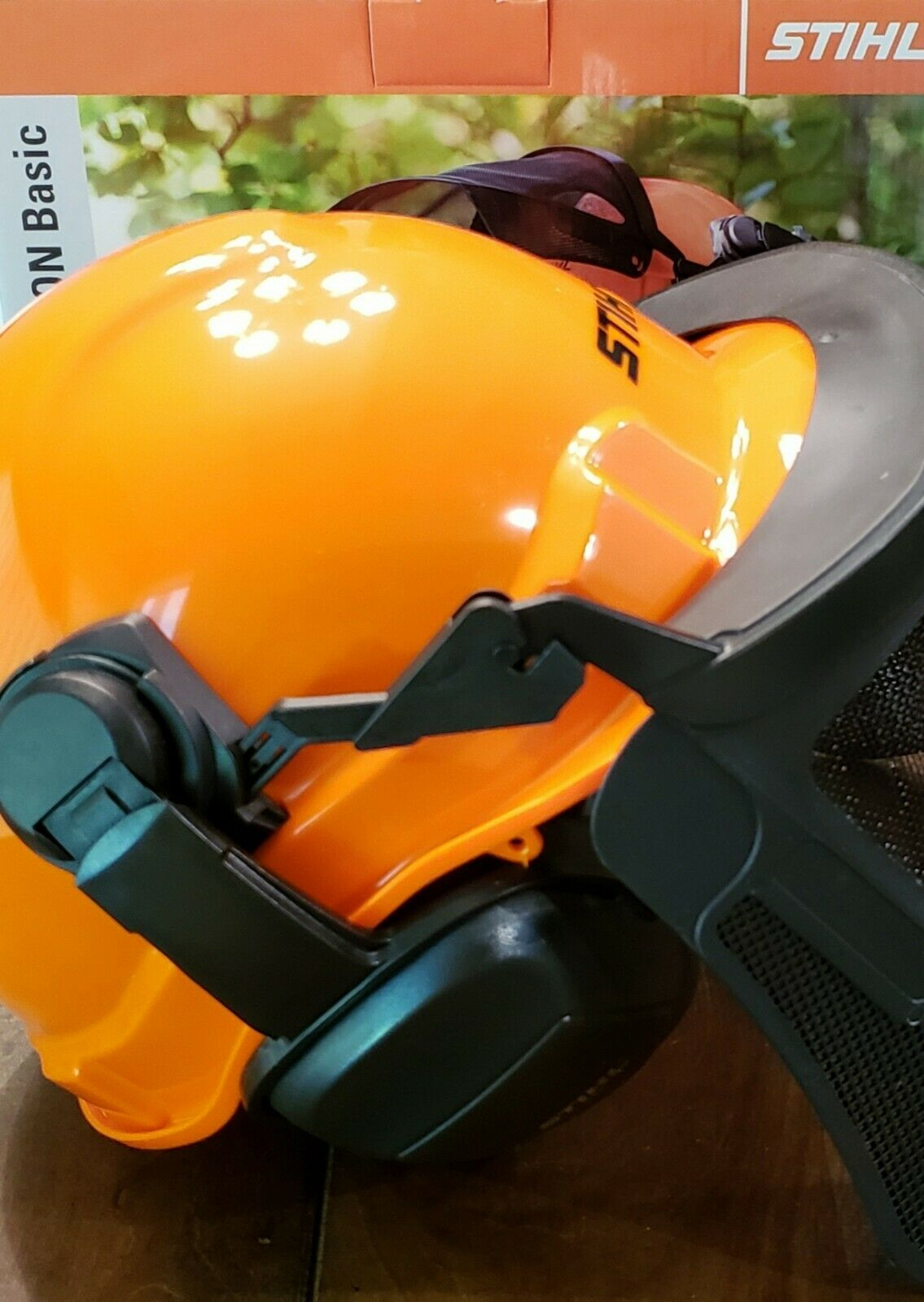 NEW Genuine STIHL Pro Function Basic Helmet System NIB 7010-888-0800 OEM