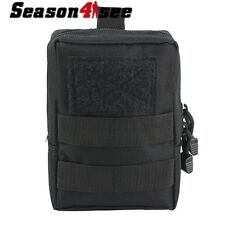 Tactical Military MOLLE Bag Utility Accessory Tools Pouch for Airsoft Vest Black